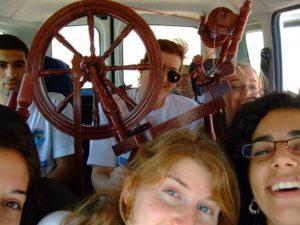 צוות חופש סדנאות - בדרך ליום פעילות